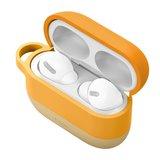 Baseus AirPods Pro siliconen hoesje - Oranje_
