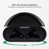 Huawei FreeBuds 3 siliconen hoesje - storage series - Met bevestigingsclip - grijs_