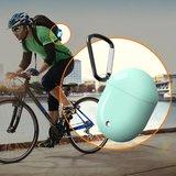 Google Pixel Buds 2 TPU siliconen hoesje - egg shock series - Met bevestigingsclip - wit_