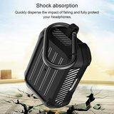AirPods Pro carbon fiber hoesje - Grijs_