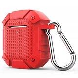AirPods 1/2 hoesje schokbestendige harnas - soft case - rood _