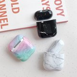 AirPods 1/2 hoesje Marble series - hard case - Marble multi color - Schokbestendig_