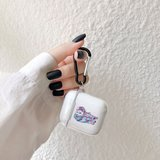 AirPods 1/2 hoesje Painting series - hard case - Olifant - Schokbestendig_