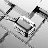 AirPods Pro Glans - hard case - Zilver_