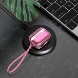 AirPods Pro Glans - hard case - Roze_
