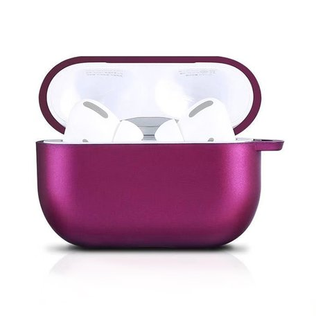 AirPods Pro siliconen hoesje X-level series - Wijn rood