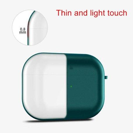AirPods Pro siliconen hoesje X-level series - Donker groen