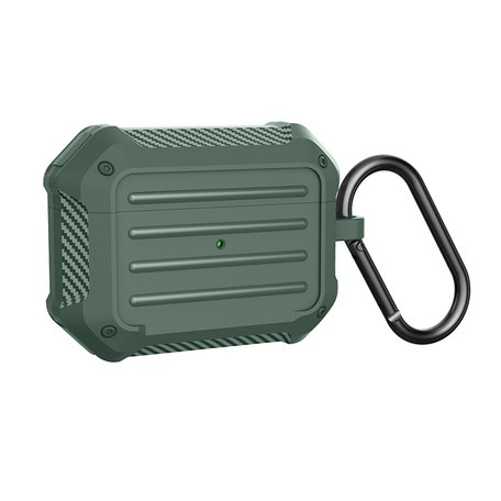 AirPods Pro carbon fiber hoesje - Groen