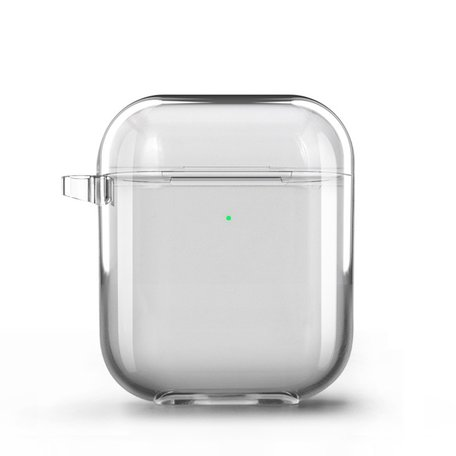 AirPods 1/2 hoesje Fluorescent series - hard case - transparant