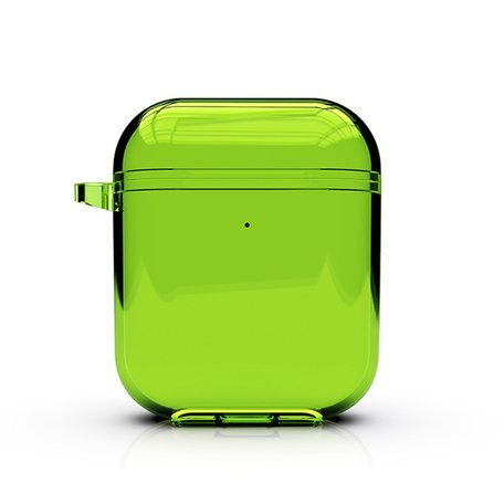 AirPods 1/2 hoesje Fluorescent series - hard case - groen