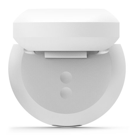 AirPods 1/2 hoesje siliconen shockprotect series - wit