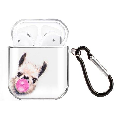 AirPods 1/2 hoesje Painting series - hard case - Alpaca - Schokbestendig