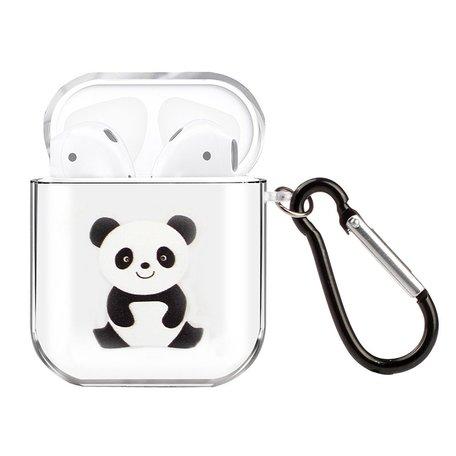 AirPods 1/2 hoesje Painting series - hard case - panda - Schokbestendig