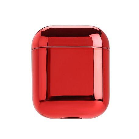 AirPods 1/2 hoesje Electro series - hard case - Rood - Schokbestendig