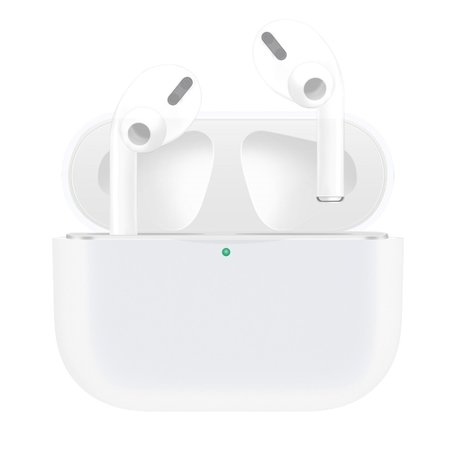 AirPods Pro Solid series - Siliconen hoesje - Wit