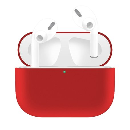AirPods Pro Solid series - Siliconen hoesje - Rood