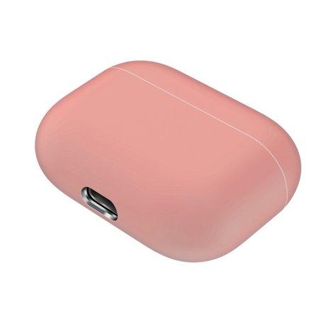 AirPods Pro Solid series - Siliconen hoesje - Zalmkleur