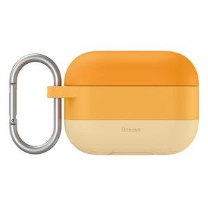Baseus AirPods Pro siliconen hoesje - Oranje