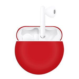 Huawei FreeBuds 3 siliconen hoesje - liquid series  - rood