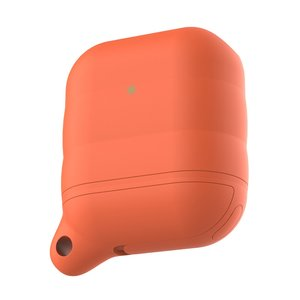 AirPods 1/2 hoesje siliconen waterproof series - soft case - oranje