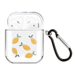 AirPods 1/2 hoesje Painting series - hard case - Lemon - Schokbestendig