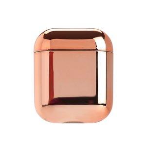 AirPods 1/2 hoesje Electro series - hard case - Rosé goud - Schokbestendig